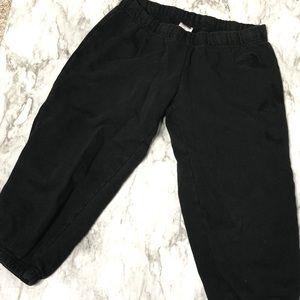 North Face | capri sweatpants black M